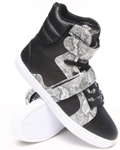 AH by Android Homme Animal Print,Black Propulsion Hi Sneakers