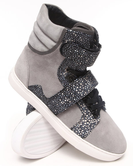 AH by Android Homme Grey Propulsion Hi Sneakers