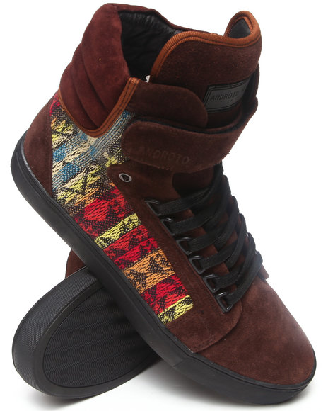 AH by Android Homme Brown Propulsion 1.5 Sneakers