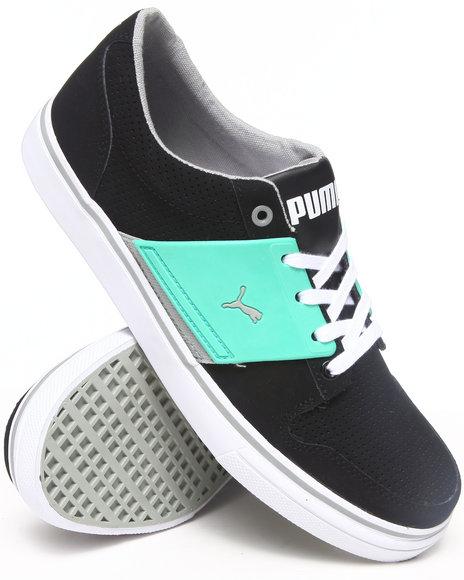 Puma - Men Black El Ace 2 Pn Sneakers