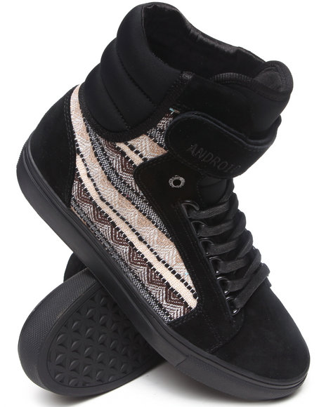 AH by Android Homme Black Propulsion 1.5 Sneakers