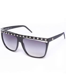 Baby Phat - Flat Top Stud Trim Sunglasses