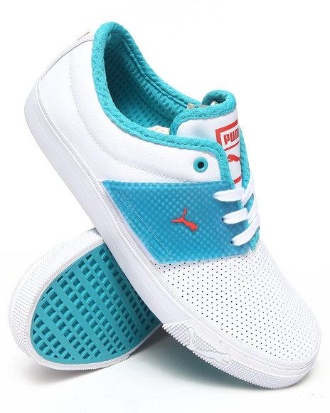 Puma White El Ace T Sneakers