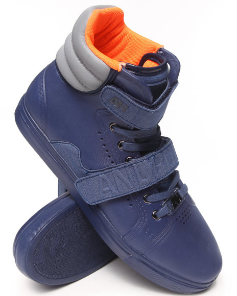 AH by Android Homme Navy Propulsion Hi Eva Sneakers