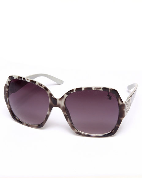 Baby Phat - Women Animal Print Tiger Oversized Sunglasses