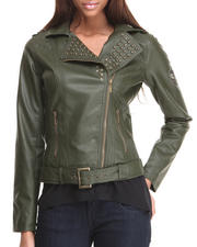 Basic Essentials - A Few Good Men Moto Jacket