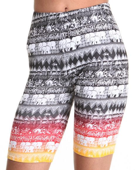 Stussy Multi Tom Tom Fade Shorts