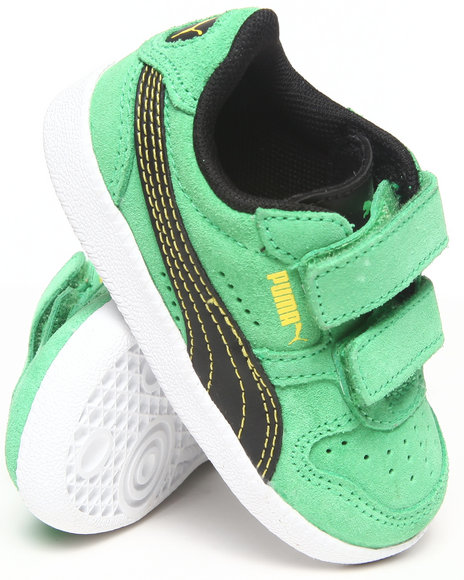 Puma Boys Green Icra Trainer Sneakers (5-10)