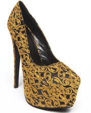 Fashion Lab - Candice Printed Platform Pump