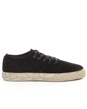 The Hundreds - Johnson Low Perforated Suede Sneakers