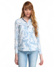Tops - Tie Dye Tencel Shirt