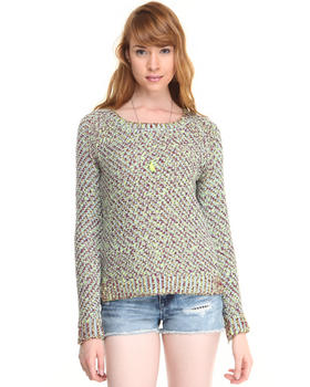 Women - COLORFUL SUMMER KNIT SWEATER