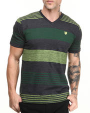Zoo York - Regatta Stripe V-neck Tee