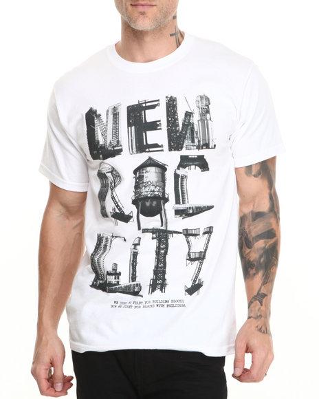 Rocawear - Men White N R C Tee - $12.99