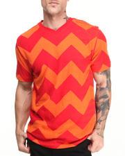 T-Shirts - Zig Zag V-Neck Tee