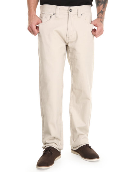 Pelle Pelle - Men Cream Wheatfield Twill Pants