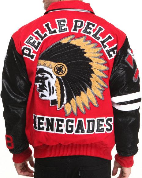 Pelle Pelle Red Renegades Twill Jacket