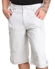 Pelle Pelle - Chambray Multipocket Shorts
