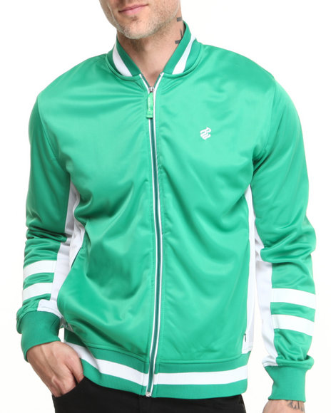 Rocawear - Men Green F Y S Track Jacket