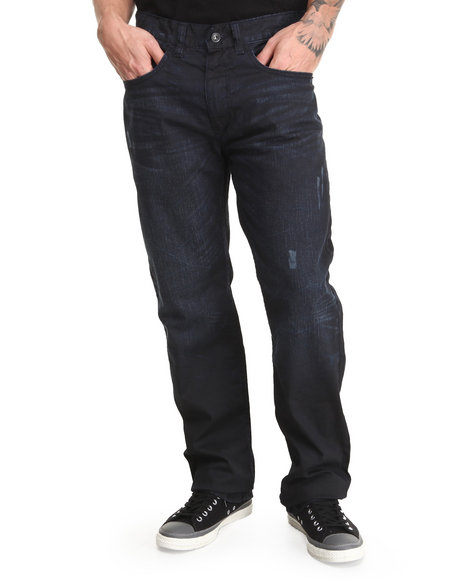 Rocawear - Men Blue Volume Classic Fit Denim Jeans