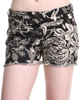 Shorts - TROPICAL PRINT SHORTS