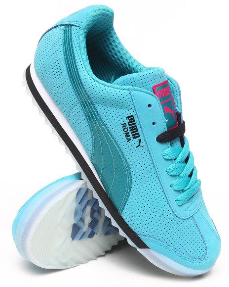 Puma Blue Roma Basic T Sneakers