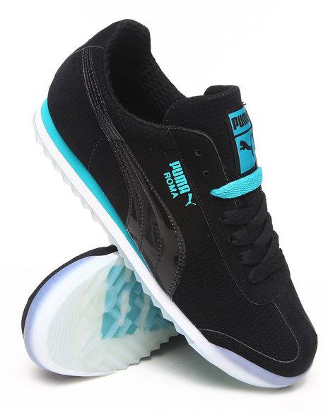 Puma Black Roma Basic T Sneakers