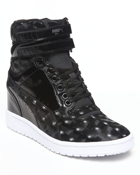 Puma Black Sky Wedge Opulence Sneakers