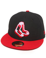 Men - Boston Red Sox Neon Logo Pop 5950 Fitted Hat