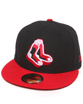 New Era - Boston Red Sox Neon Logo Pop 5950 Fitted Hat