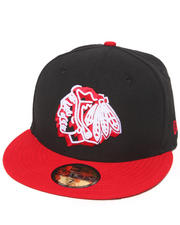 Men - Chicago Blackhawks Neon Logo Pop 5950 Fitted Hat
