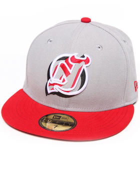New Era - New Jersey Devils Neon Logo Pop 5950 Fitted Hat