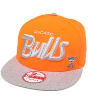 Men - Chicago Bulls Team Script Heather 5950 Strapback Hat