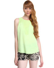 Maison Scotch - LASER CUT MESH TOP
