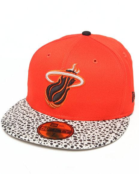 New Era - Miami Heat Pebble Hook 5950 Fitted Hat