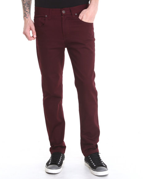 Maroon Jeans