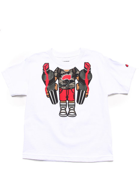 TRUKFIT Boys White Lil' Tommy Body Tee (8-20)