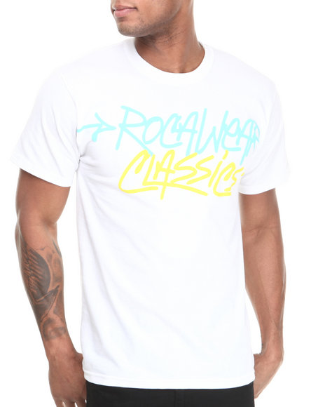 Rocawear White Classic Material Tee