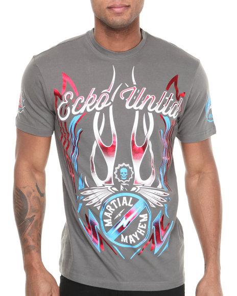 Ecko Charcoal Mma This Is Mayhem T-Shirt