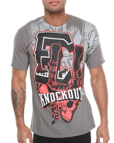 Ecko Charcoal Mma Amped Up T-Shirt