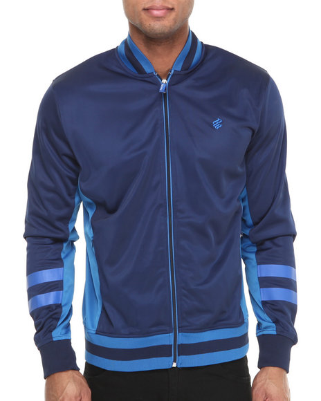 Rocawear - Men Blue F Y S Track Jacket