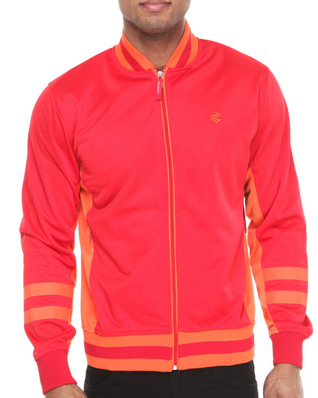 Rocawear - Men Red F Y S Track Jacket