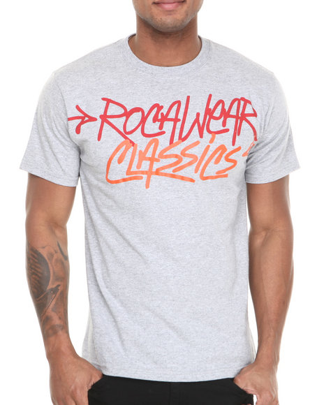 Rocawear Grey Classic Material Tee