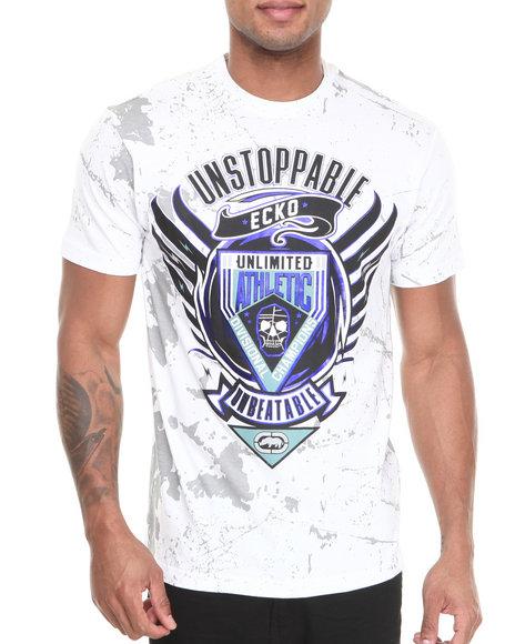 Ecko White Mma Unbeatable T-Shirt
