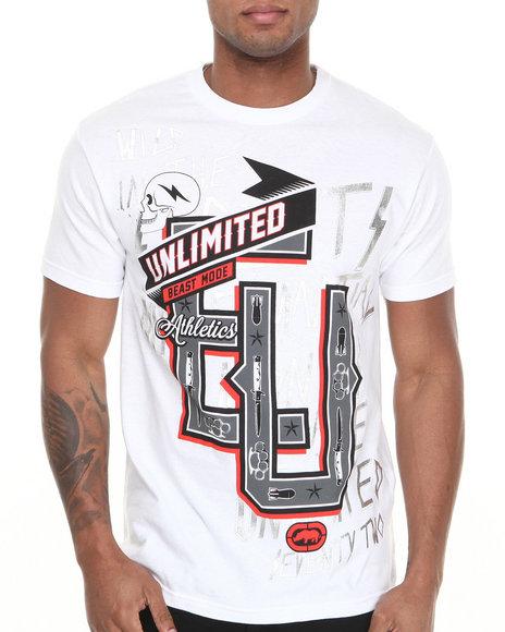 Ecko White Mma Go Wild T-Shirt