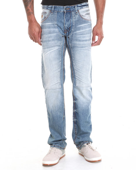 Rocawear - Men Vintage Wash Roc Work Straight Fit Jeans