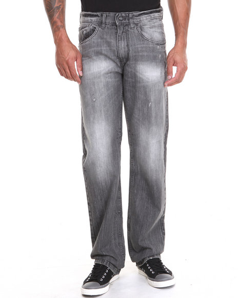 Rocawear - Men Grey Volume Classic Fit Denim Jeans
