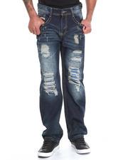 Basic Essentials - Rips and Repair Denim Jeans