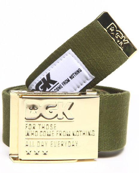 Dgk Eagle Scout Belt Olive