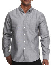 The Skate Shop - Ron L/S Oxford Button-down